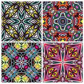 Ceramic Tiles Set — Stock Vector