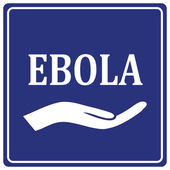 Care for Ebola — Stock Vector