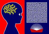 Reading for Brain Development — Stock Photo