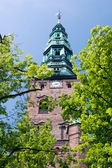 Church copenhagen Nikolaj capital Denmark — Stock Photo