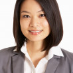 Studio Portrait Of Chinese Businesswoman — Stock Photo