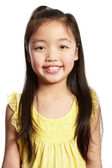 Foto de estúdio da menina chinesa — Foto Stock