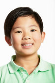 Studio Shot Of Chinese Boy — Foto de Stock