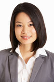 Studio Portrait Of Chinese Businesswoman — Stock Photo