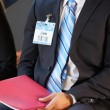 Detail Of Businessman At Conference — Stock Photo #24646369