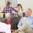 Patients In Doctor's Waiting Room — Stock Photo #24646941