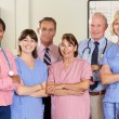 Portrait Of Medical team — Stock Photo