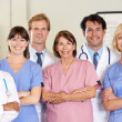 Portrait Of Medical team — Foto de Stock
