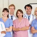 医療チームの肖像画 — ストック写真