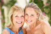 Portrait Of Mother And Adult Daughter — Stock Photo