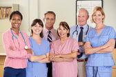 Portret van medisch team — Stockfoto