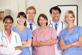 Portrait Of Medical team — Foto Stock