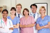 Retrato da equipe médica — Foto Stock