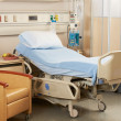 Stock Photo: Empty Bed On Hospital Ward