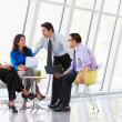 Businesspeople Having Meeting In Modern Office — Stock Photo #24653123