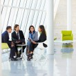 Businesspeople Having Meeting In Modern Office — Stock Photo #24654081