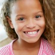 Head And Shoulders Portrait Of Young Girl — Stock Photo #24654231