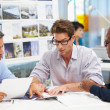 Group Of Men Meeting In Creative Office — Stock Photo #25045345