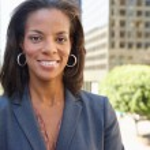 Portrait Of Businesswoman Outside Office — Stock Photo