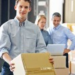 Workers In Distribution Warehouse — Stock Photo #25046071