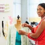 Fashion Designer In Studio — Stock Photo #25047679