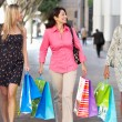 Group Of Women Carrying Shopping Bags On City Street — Stock Photo #25047707