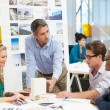 Meeting In Architects Office — Stockfoto