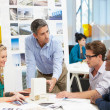 Stock Photo: Meeting In Architects Office