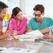 Team Meeting In Creative Office — Stock Photo
