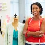 Fashion Designer In Studio — Stock Photo #25049587