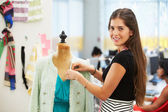 Fashion Designer In Studio — Stock Photo