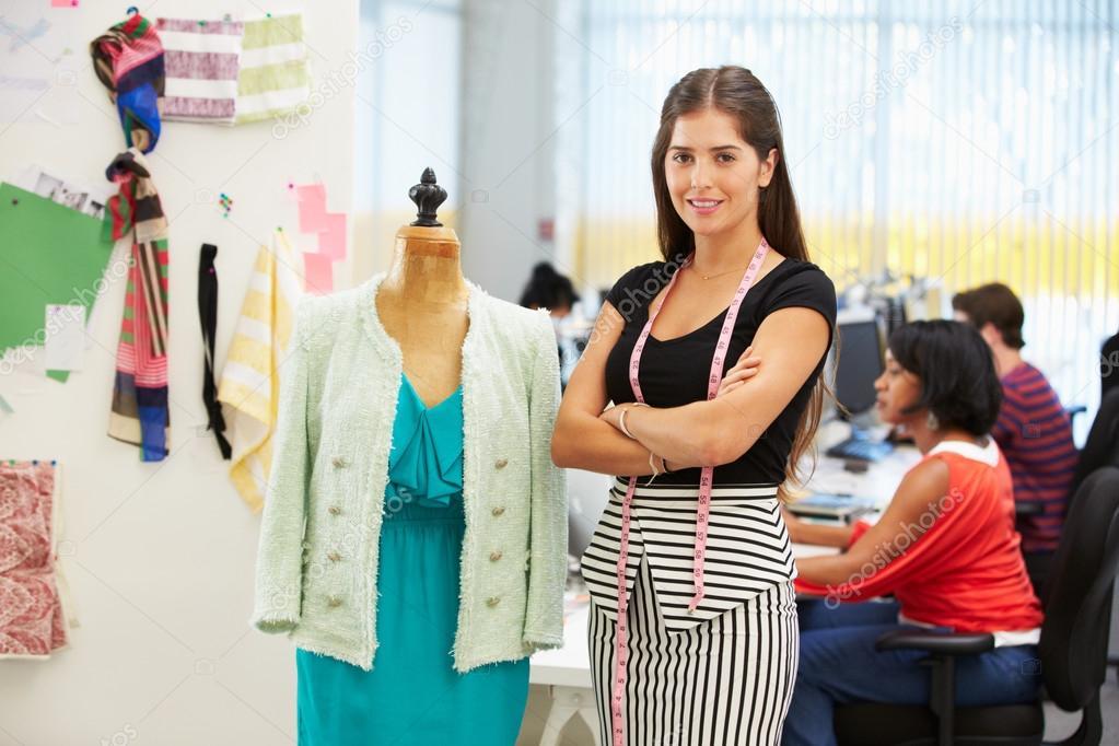 Fashion Designer In Studio Stock Photo Monkeybusiness 25045675