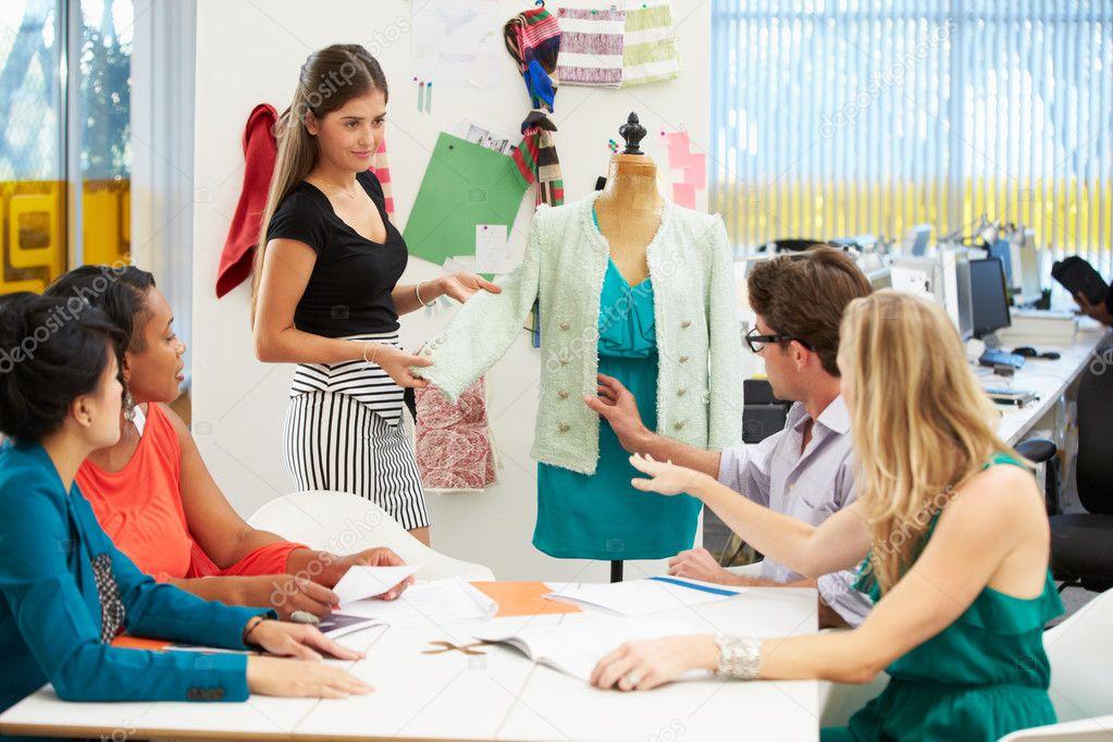 Meeting In Fashion Design Studio Stock Photo Monkeybusiness 25048555