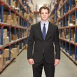 Portrait Of Manager In Warehouse — Stock Photo #25050151