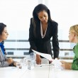 Group Of Women Meeting In Office — Stock Photo