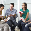 Bible Group Reading Together — Stock Photo