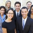 Portrait Of Business Team Outside Office — Stock Photo #27553739