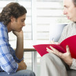 MHaving Counselling Session — Stock Photo #27554039