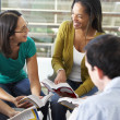Bible Group Reading Together — Stock Photo #27554729