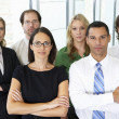 Portrait Of Business Team In Office — Stock Photo