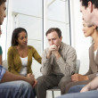 Stock Photo: Meeting Of Support Group