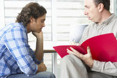 Man Having Counselling Session — Stock Photo