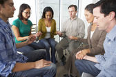 Bible Group Praying Together — Stock Photo