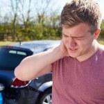 Driver Suffering — Stock Photo #36839645