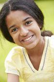 Outdoor Portrait Of Indian Girl — Stock Photo