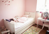 Empty And Untidy Child's Bedroom — Stock Photo