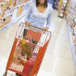 Young woman grocery shopping — Stock Photo #4757844