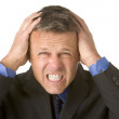 Businessman Looking Stressed — Stock Photo #4781681