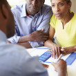 Couple Meeting With Financial Advisor — Stock Photo #48296923