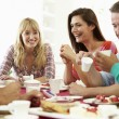 Friends Having Dinner Party — Stock Photo #48301495
